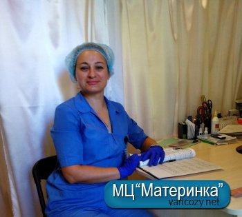 Кривошея Світлана Миколаївна, медсестра
