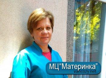 Юрченко Тетяна Іванівна, медична сестра, сестра-господарка